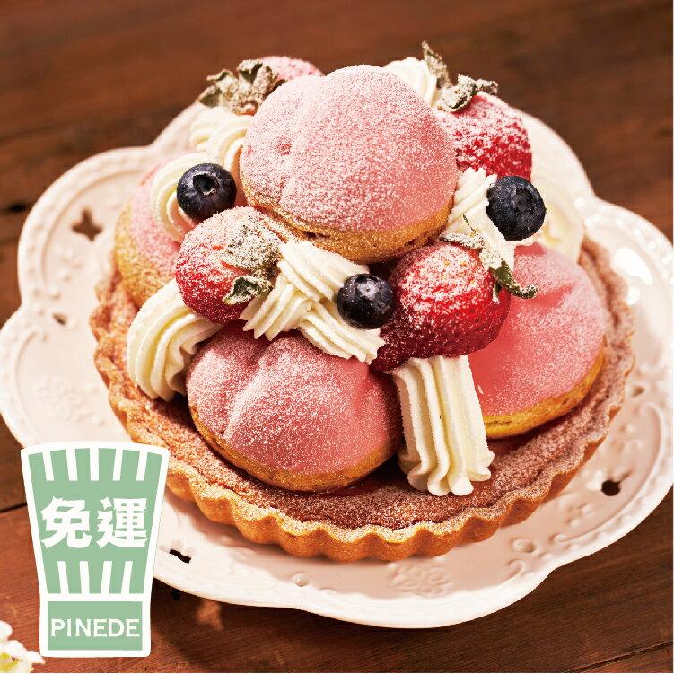 名古屋排隊甜點♥粉紅泡泡6吋
