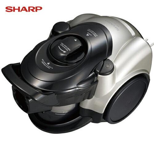 SHARP 夏普 EC-CT12R 450W氣旋式CYCLONE吸塵器 日本原裝進口 買就送德國施巴沐浴禮盒