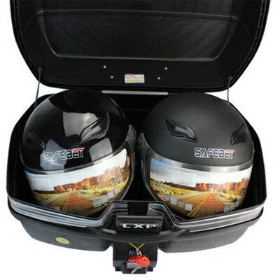 機車置物箱 後尾箱-超大容量可放2頂全罩安全帽手提摩托車用品4色(特大款)73q5【獨家進口】【米蘭精品】