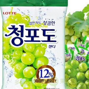 韓國Lotte樂天~青葡萄糖果[KR021]