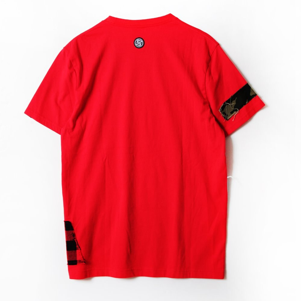 STAGE  REMAKER SS TEE 黑色/紅色  兩色 5