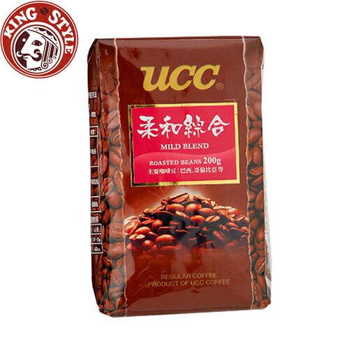 金時代書香咖啡【UCC】柔和綜合咖啡豆200g