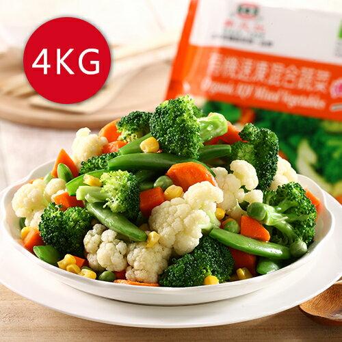 進口急凍歐盟有機認證蔬菜任選4公斤免運組,菠菜、青花菜、甜豌豆、綜合活力四色、綜合健康時蔬,如未有您需要的種類,可下單後再備註。 0