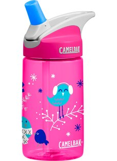 Camelbak 兒童水壺/吸管運動水瓶/吸管水瓶 eddy 400ml CB54173 歡樂小鳥