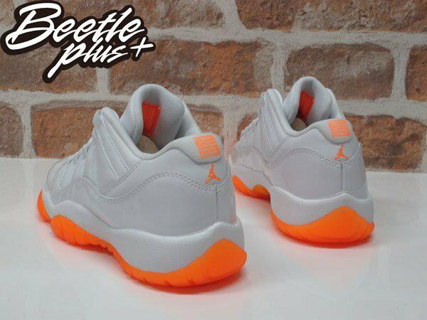 BEETLE PLUS NIKE AIR JORDAN 11 XI LOW GS CITRUS 柑橘 木瓜 白橘 亮皮 喬丹 女鞋 580521-139 2