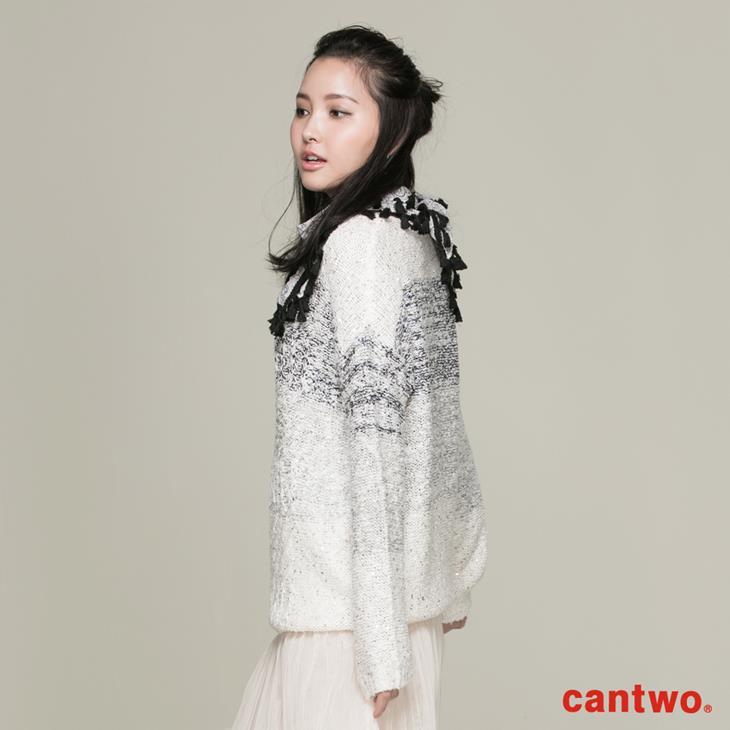 cantwo混色亮片針織上衣(共一色) 2