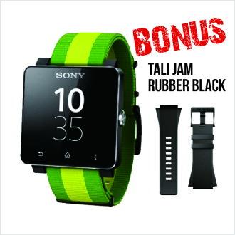 Promo Gadget dan Aksesoris Rakuten - sony smartwatch 2 sw2 fifa world cup version - one year warranty