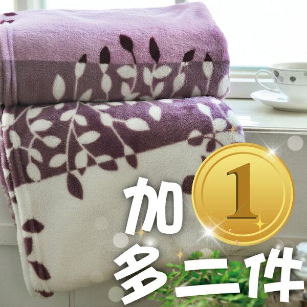 【加一元多兩件】購買本店雙人床墊/枕頭,加1元多二件毛毯