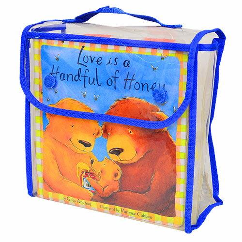 【英國Caterpillar原文童書】Love is a Handful of Honey 禮物書+毯子