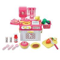 凱蒂貓週邊商品推薦到【Hello Kitty 系列】KT流理台瓦斯爐玩具組 KT2023
