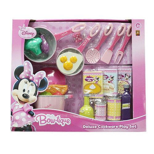 【Disney 品牌授權系列】豪華米妮廚房玩具家家酒組 BL74768