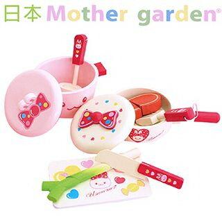 【日本Mother Garden】小白兔牛排廚具組 (單筆消費滿5000元再送670元的桌遊-工人危機!)
