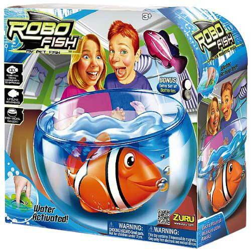 【 ROBO FISH 】歡樂寵物魚 - 暗礁系列 ZR00398 ( 附魚缸 )