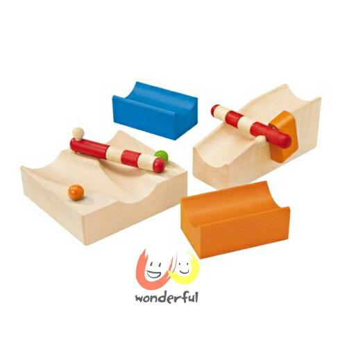 【Selecta 木製遊戲玩具】叮咚軌道球配件軌道切換組 BCST0124