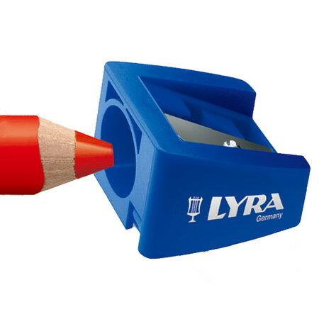 【德國LYRA】GROOVE( 3合1)胖胖三角洞洞筆專用削筆器(一入) 7301170