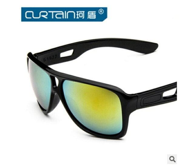 50%OFF【J011475Gls】新款時尚防風運動型太陽鏡1022 百搭炫彩騎行墨鏡太陽眼鏡潮附眼鏡盒