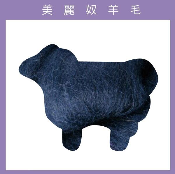 紐西蘭ASHFORD-美麗奴羊毛 M08靛藍色