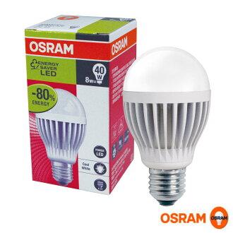 【OSRAM】LED燈泡 8W《2入》