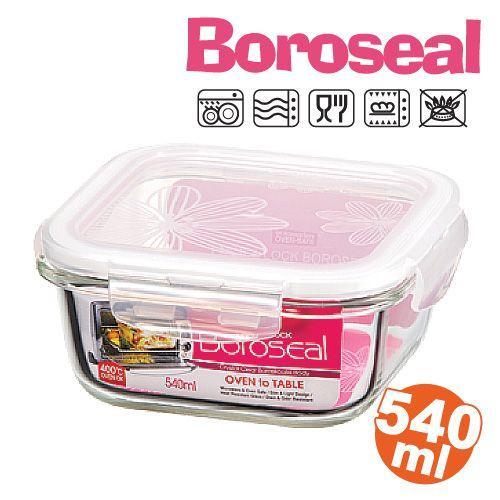 樂扣樂扣微波烤箱玻璃保鮮盒/便當盒方型540ml-LLG215-大廚師百貨