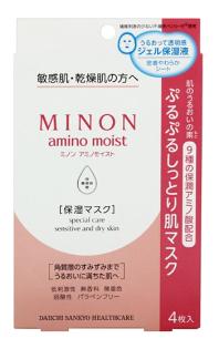 MINON 超保濕凍膜 乾燥肌/敏感肌(4入)