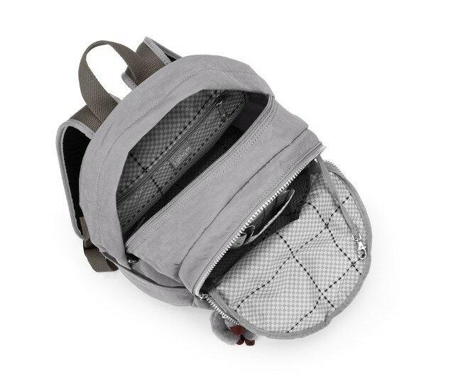 OUTLET代購【KIPLING】時尚經典Seoul旅行袋 斜揹包 肩揹包 後揹包 灰色 2