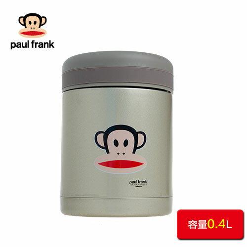 【Paul Frank】大嘴猴超真空悶燒罐400ml香檳金