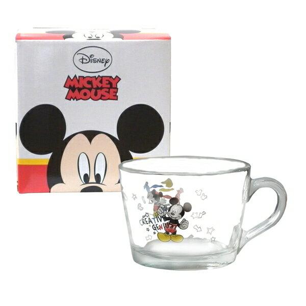 Disney經典米奇玻璃杯-455cc
