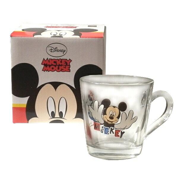 Disney經典米奇玻璃馬克杯-360cc