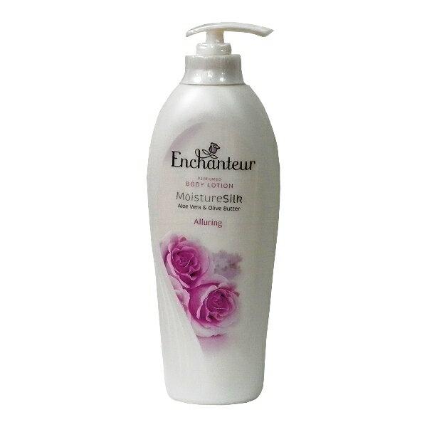 進口Enchanteur玫瑰系列身體香水乳液-400ml-紫玫瑰