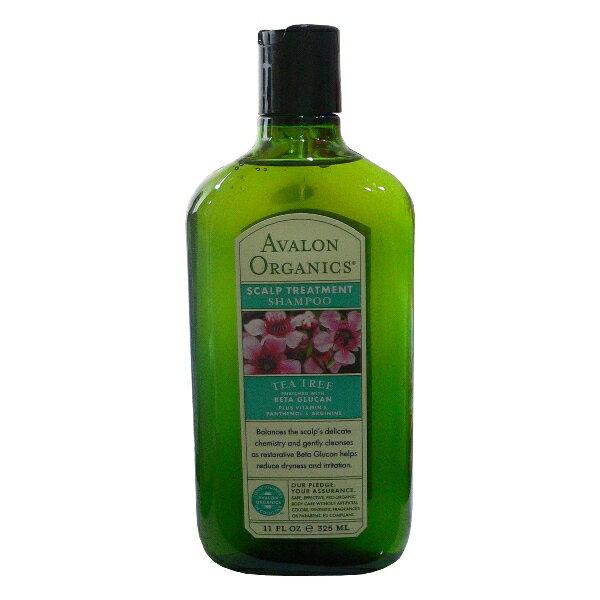 美國Avalon茶樹滋養洗髮精325ml