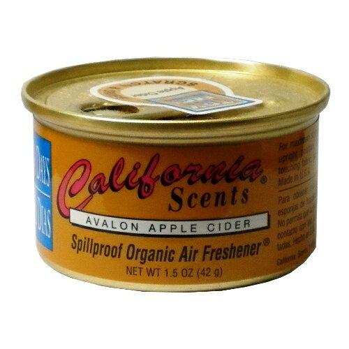 California Scents加州淨香草室內芳香罐-蘋果西打 Avalon Apple Cider