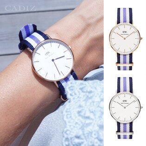 【Cadiz】瑞典DW手錶Daniel Wellington 0509DW金 0609DW銀 Trinity 36mm