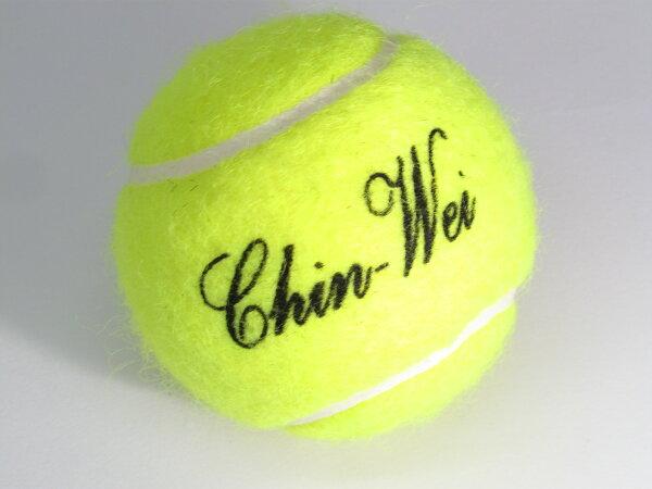 CHIN-WEI網球練習球無壓球