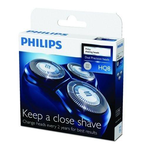 PHILIPS 飛利浦電鬍刀網刀片 HQ8 / HQ-8 (1盒2個刀頭刀網包裝)