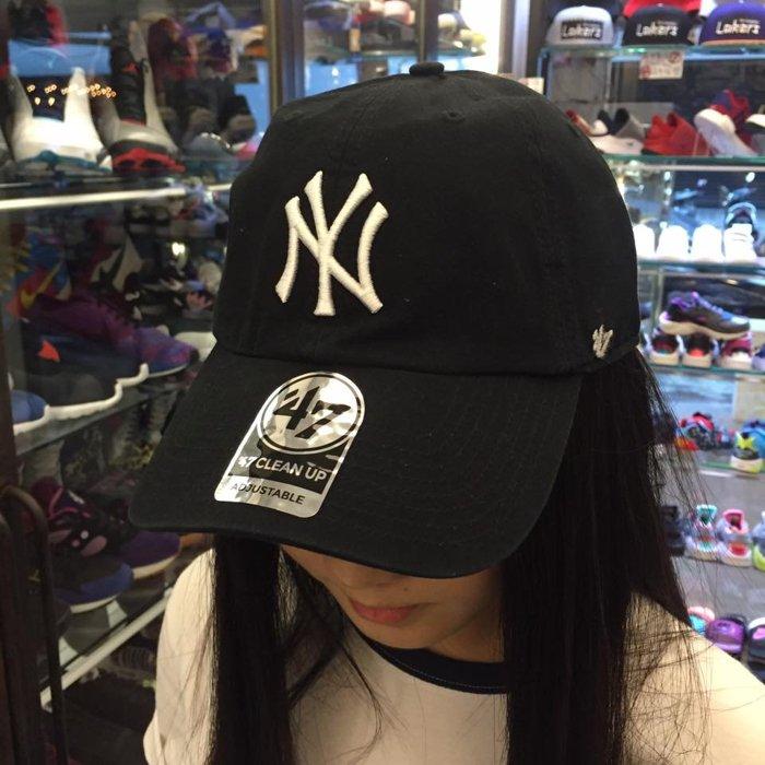 BEETLE 47 BRAND 老帽 紐約 洋基 NEW YORK YANKEES DAD HAT 大聯盟 MLB 黑白 MN-388 2