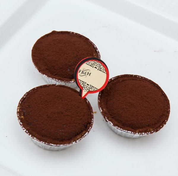 迷你生巧克力塔 12入 暖暖der甜點工作坊