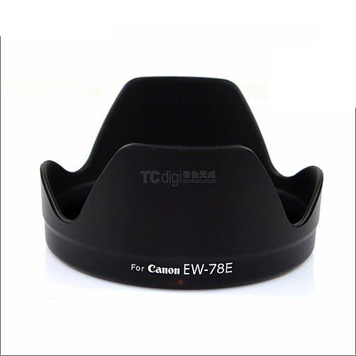 攝彩@Canon EW-78E 可反扣遮光罩 EF-S 15-85mm F3.5-5.6 IS 蓮花形 -20910