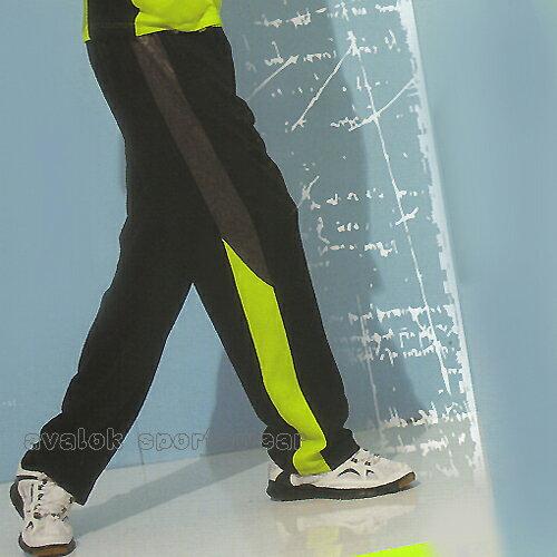 MILD STAR 男女針織吸濕排汗運動長褲-黑#PS5007-08 0