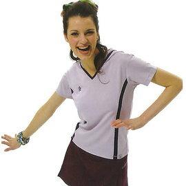 MILD STAR 女版吸濕排汗韻律服套裝-[淺紫上衣+深紫七分褲裙]#AS201820+PS202617 - 限時優惠好康折扣