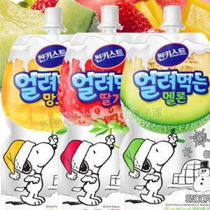 韓國Sunkist 史努比包裝 果汁凍飲飲料 [KR247]