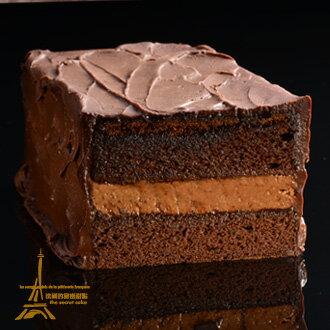 """法國的秘密甜點~""""成人級的巧克力大作""""80%經典迦納可可純手工蛋糕 0"""