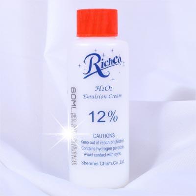 【美髮沙龍.DIY染髮】12%染頭髮專業用雙氧水(顯色劑)-100ml [48770]另有販售1000ml
