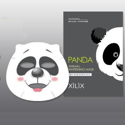 【韓國最夯動物面膜】DERMAL熊貓美白保濕面膜1入 [49205]◇美容美髮美甲新秘專業材料◇