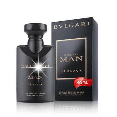 【送禮物首選】BVLGARI當代真我洗髮沐浴膠40ml [49615]◇美容美髮美甲新秘專業材料◇