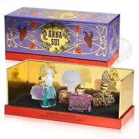聖誕節禮物推薦::聖誕節送禮首選:: 安娜蘇閃耀奢華小香禮盒4ML*5 [50398]