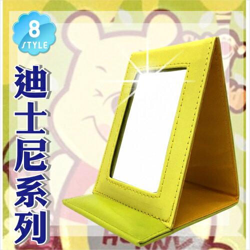 【迪士尼系列】方便攜帶型三折鏡.巧妝鏡.化妝鏡-單入(八款任選) [51225]