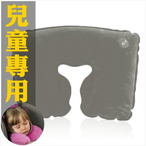【兒童專用】M-166吹氣式休憩枕.U型枕-單入(不挑色) [51554]台灣製造