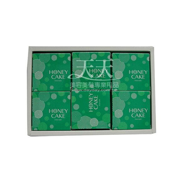 資生堂 蜂蜜香皂禮盒 100g*6入 (綠) [25886] ::WOMAN HOUSE::