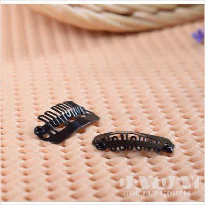 接髮道具髮片專用彈簧扣夾(2.5cm)-單入 [44902] ◇美容美髮美甲新秘專業材料◇