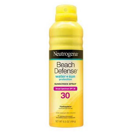 【SPF30美國皮膚科專業推薦】露得清Neutrogena海灘終極防護防曬隔離噴霧-184g [48281]